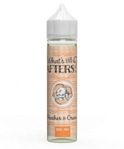peaches-cream-what's-for-afters-shortfill-eliquid-50ml