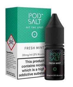 e-liquid-pod-salt-Fresh Mint-nic-salt-pod-salt